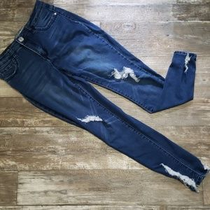 Hot Kiss ankle skinny jeans size 11